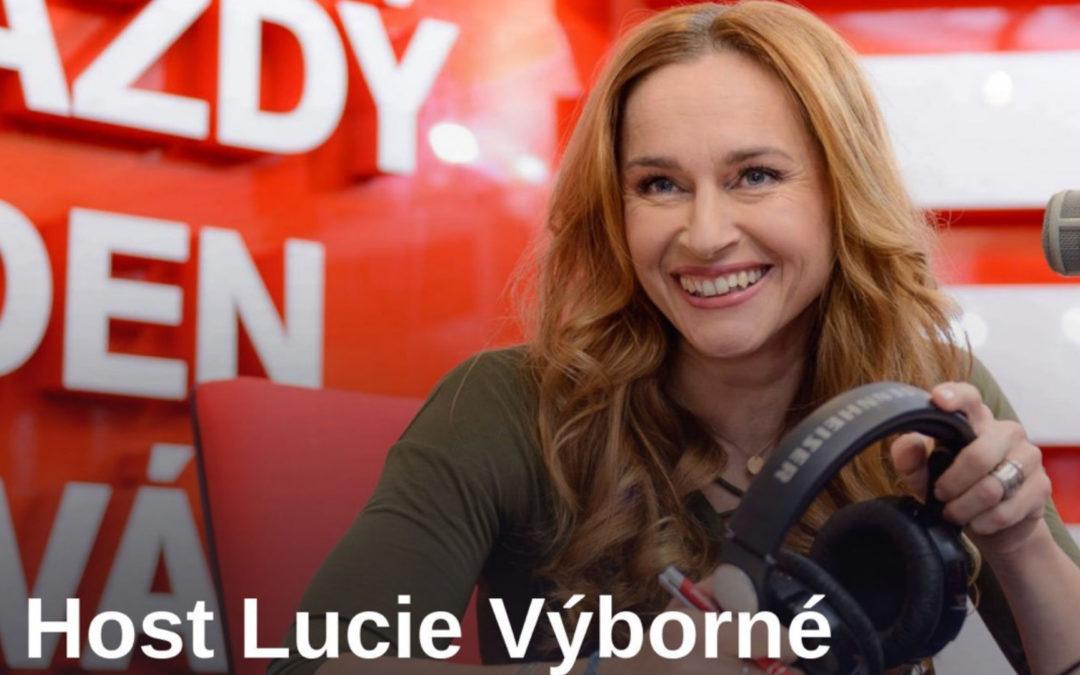 V radiožurnálu s Lucií Výbornou